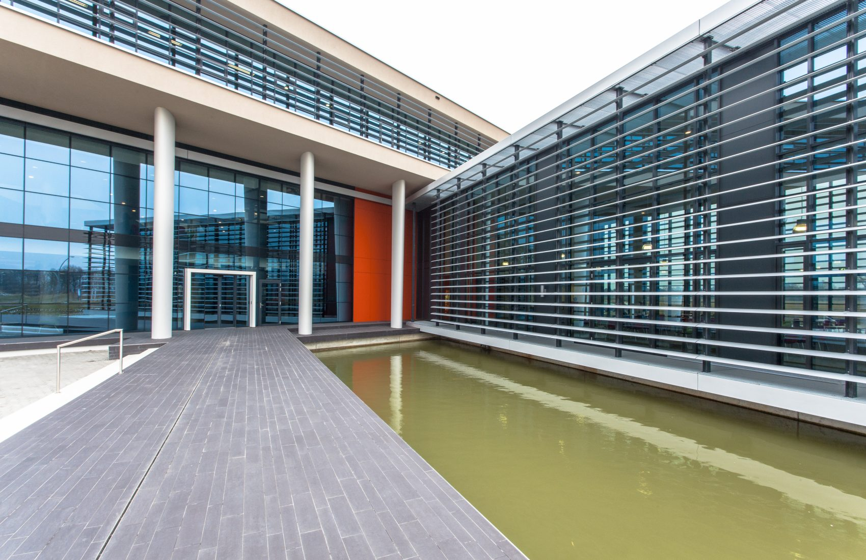 Modern commercial architecture in the Netherlands